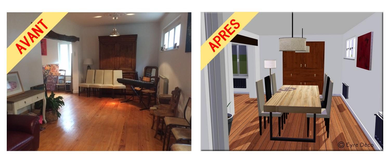 Moderniser Une Salle A Manger rénovation d'une maison ancienne - eyre déco